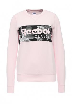 Свитшот Reebok Classics. Цвет: розовый