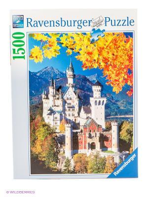 Паззл Осенний Нойшванштайн 1500 шт Ravensburger. Цвет: голубой