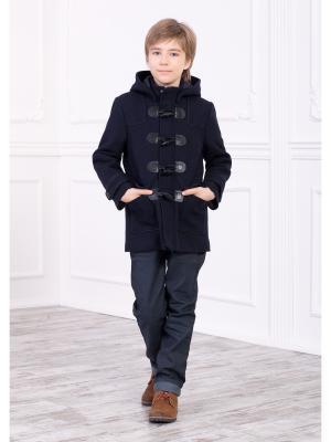 Куртка, пальто Baby Steen. Цвет: темно-синий