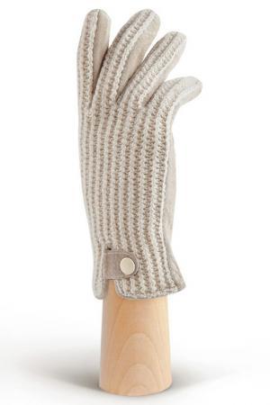 Перчатки MODO. Цвет: светло-бежевый