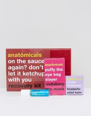 Anatomicals Восстанавливающий комплекс On Sauce Again. Цвет: бесцветный