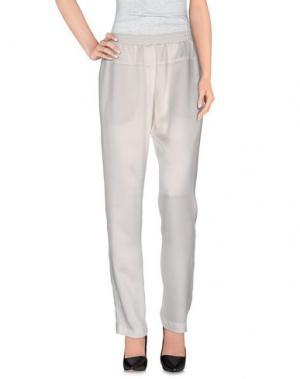 Повседневные брюки LIIS - JAPAN. Цвет: белый