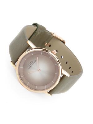 Часы на ремне IBSO. Цвет: оливковый, золотистый