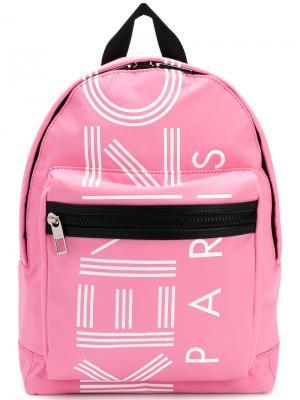 Средний рюкзак  Sport Kenzo. Цвет: розовый и фиолетовый