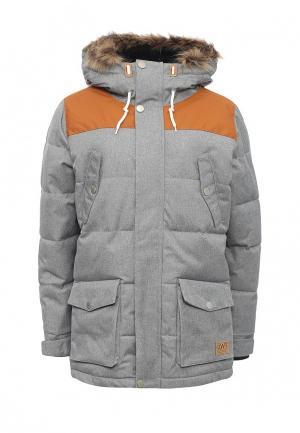 Куртка утепленная CLWR. Цвет: серый