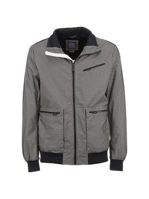 Куртка GEOX. Цвет: черный, белый