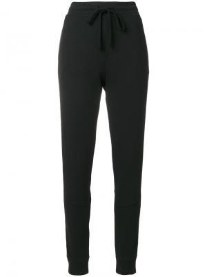 Спортивные брюки со шнурком на талии Thom Krom. Цвет: чёрный