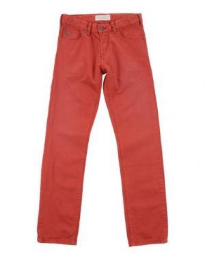 Джинсовые брюки SCOTCH & SHRUNK. Цвет: кирпично-красный