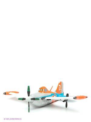 Самолет Дасти на р/у Dickie. Цвет: серебристый, белый, черный, оранжевый