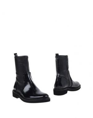 Полусапоги и высокие ботинки BRUNO PREMI. Цвет: темно-синий