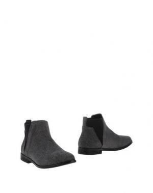 Полусапоги и высокие ботинки BULL BOXER. Цвет: серый