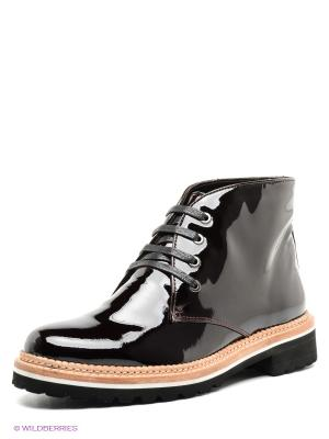 Ботинки Paolo Conte. Цвет: бордовый