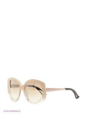Солнцезащитные очки CHRISTIAN DIOR. Цвет: бежевый