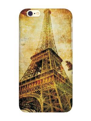 Чехол для IPhone 6  Эйфелева осенью Mitya Veselkov. Цвет: желтый, черный