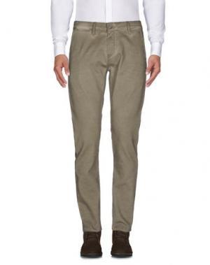 Повседневные брюки MELTIN POT. Цвет: хаки