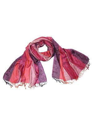 Палантин Ethnica. Цвет: сиреневый, малиновый, розовый