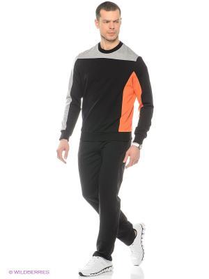 Спортивный костюм RED-N-ROCK'S. Цвет: черный, оранжевый, серый