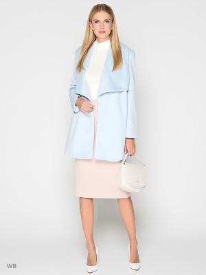 Пальто Stets. Цвет: голубой