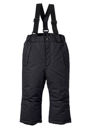 Зимние брюки. Цвет: черный