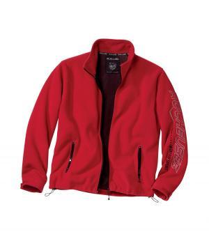 Флисовая Куртка AFM. Цвет: красныи