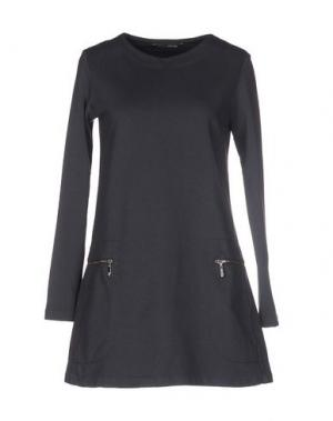 Короткое платье EUROPEAN CULTURE. Цвет: свинцово-серый
