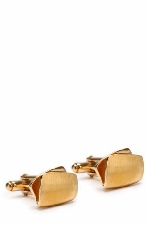 Запонки Lanvin. Цвет: золотой