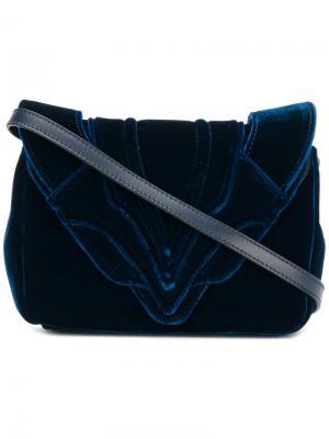 Сумка на плечо Elena Ghisellini. Цвет: синий