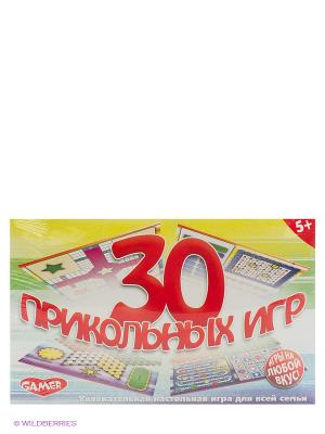 Детская настольная игра  30 Прикольных игр DREAM MAKERS. Цвет: желтый