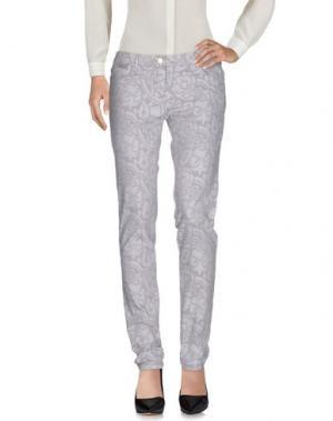 Повседневные брюки MARELLA SPORT. Цвет: светло-серый