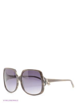 Солнцезащитные очки Borsalino. Цвет: серо-коричневый, темно-серый