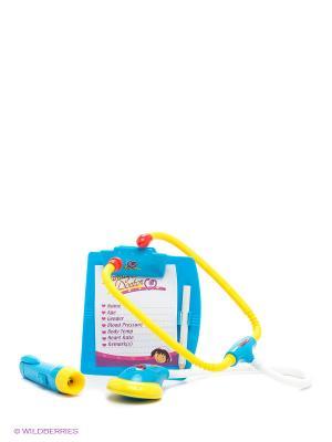 Игровой набор Доктор S-S. Цвет: голубой, желтый