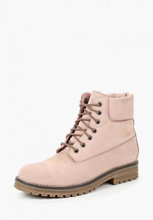 Ботинки Brulloff. Цвет: розовый
