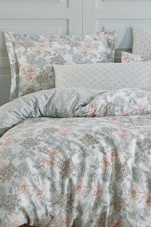 SINGLE QUILT COVER SET Marie claire. Цвет: grey, salmon, green