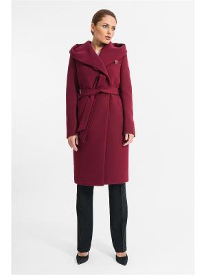 Пальто Gotti. Цвет: бордовый