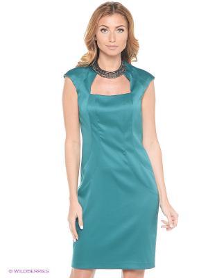 Платье London Times. Цвет: зеленый