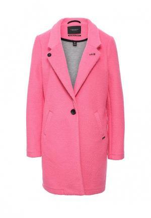 Пальто Scotch&Soda. Цвет: розовый