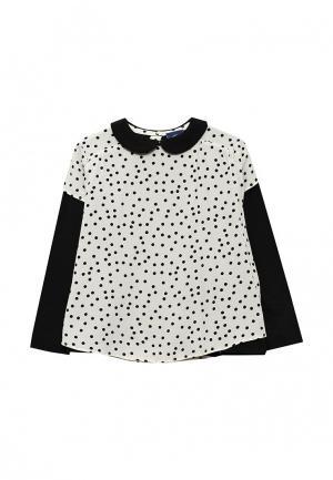 Блуза Chicco. Цвет: белый