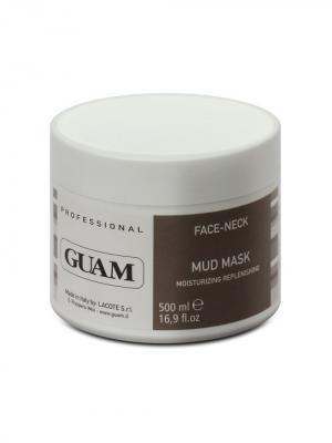 Линия PROFESSIONAL Маска для лица на основе глины увлажняющая 500 мл GUAM. Цвет: белый