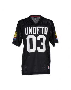 Футболка UNDEFEATED. Цвет: черный