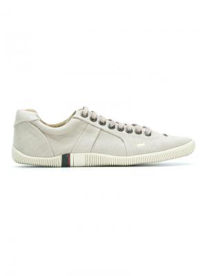 Leather sneakers Osklen. Цвет: телесный