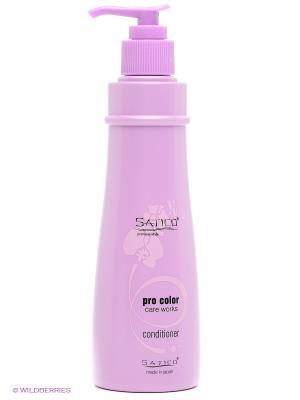Кондиционер для окрашенных волос Premium Style Pro Care Works Satico. Цвет: белый