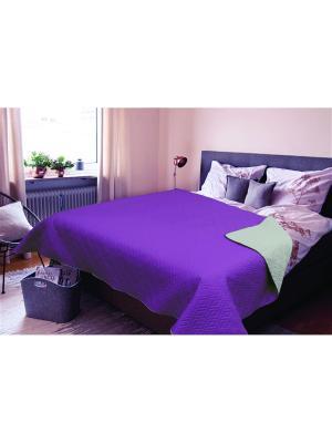Покрывало Amore Mio Verdo 2,0 сп. Euro Фиолетовый. Цвет: фиолетовый