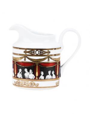 Для чая и кофе FORNASETTI. Цвет: белый