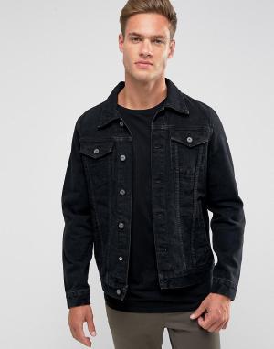 Loyalty & Faith Джинсовая куртка and. Цвет: черный