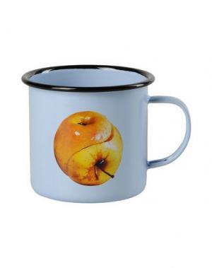 Для чая и кофе SELETTI WEARS TOILETPAPER. Цвет: небесно-голубой