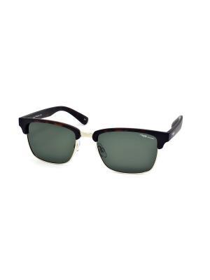 Очки Legna. Цвет: зеленый, темно-коричневый