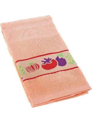 Полотенце кухонное TOALLA. Цвет: персиковый