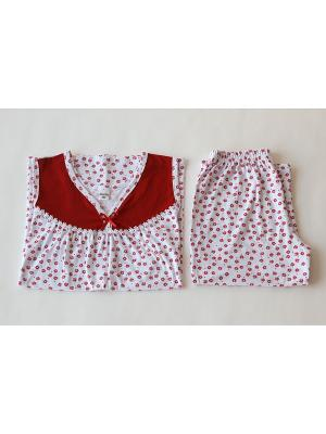 Пижама Proto. Цвет: белый, красный
