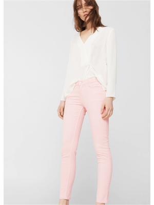 Джинсы - PATY8 Mango. Цвет: бледно-розовый, розовый