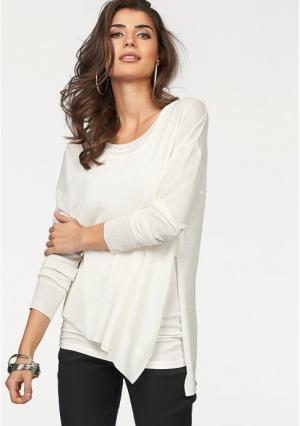 Пуловер Laura Scott. Цвет: цвет белой шерсти